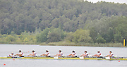 Banyoles, SPAIN, GBR W8+ Gold medalist  Jo COOK, Jennifer FARMER, Alice FREEMAN, Lindsey MAQUIRE, Olivia WHITLAM, Louisa REEVE, Natasha PAGE, Jessica Jane EDDIE and cox Caroline O'CONNER.   FISA World Cup Rd 1. Lake Banyoles.  Sunday,  31/05/2009   [Mandatory Credit. Peter Spurrier/Intersport Images]