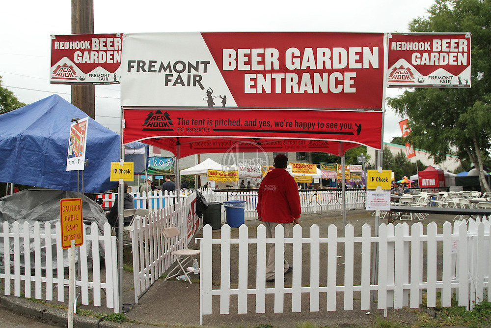 Beer Gardens at the 40th Annual Fremont Fair.