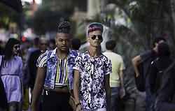 June 17, 2017 - Acontece amanhã na Avenida Paulista a 21ª Parada do Orgulho LGBT. O evento é considerado o maior do mundo no gênero e promete reunir 3 milhões de pessoas. Neste sábado (17), na Avenida Paulista. (Credit Image: © Bruno Rocha/Fotoarena via ZUMA Press)