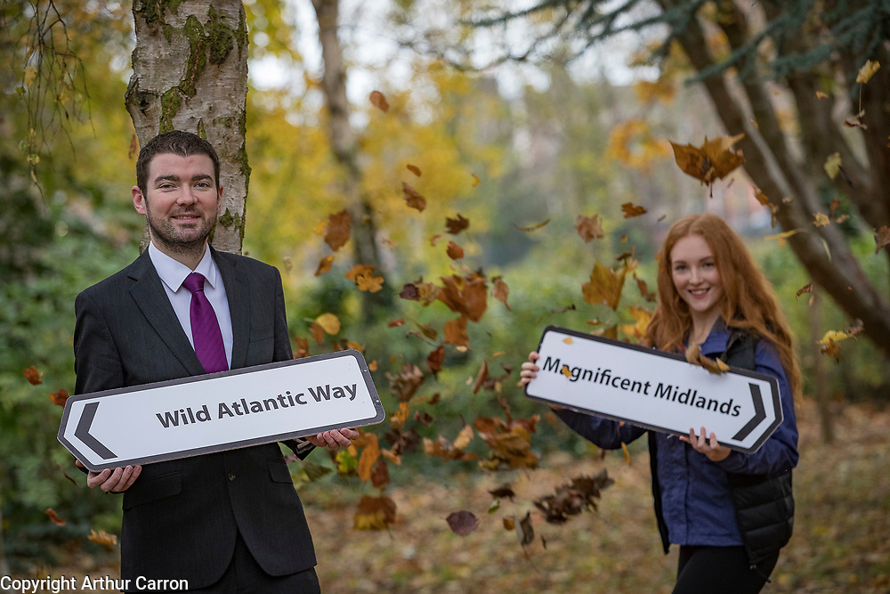 NO FEE PICTURES<br />All roads lead to Holiday World Show 2019<br />Minister of State launches the show's largest ever Home Holiday Pavilion. Discover a variety of breathtaking Irish holiday destinations at Holiday World Show, taking place in the RDS Simmonscourt from Friday 25th January to Sunday 27th January 2019. Pictured at the launch of the Holiday World Show Home Holiday Pavilion in Merrion Square Park were:Brendan Griffin, T.D. Minister of State for Tourism and Hiker, Megan O'Malley. For further information on the Holiday World Show 2019 visit www.holidayworldshow.com.<br />For further information please contact:<br />Lauren Freir, Limelight Communications, lauren.freir@limelight.ie, 01 668 0600/087 238 0853<br />Kathryn Byrne, Limelight Communications, kathryn.byrne@limelight.ie, 01 668 0600/085 233 6033<br />Pictures:Arthur Carron