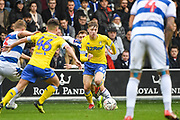 Leeds United Midfielder Jack Clarke (47) in action during the The FA Cup match between Queens Park Rangers and Leeds United at the Loftus Road Stadium, London, England on 6 January 2019.