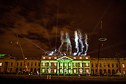 NO FEE PICTURES<br /> 30/12/16 Watch in wonder as aerialists and abseilers integrate with Luminosity in an amazing 4D performance against the backdrop of the iconic Customs HouseNow in its third year, NYF Dublin, the three-day citywide festival, is bigger and better than ever with an amazing programme spanning three days from the 30th December 2016 to the 1st January 2017. Visit www.NYFDublin.com for more festival information. The NYF Dublin Festival is an initiative by Fáilte Ireland in partnership with Dublin City Council and produced and promoted by Holohan Leisure and MCD Productions. Picture:Arthur Carron