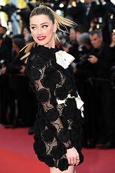 Amber Heard attending the Les Filles du Soleil (Girls of the Sun) Premiere held at the Palais des Festivals as part of the 71th annual Cannes Film Festival on May 12, 2018 in Cannes, France. Photo by Aurore Marechal/ABACAPRESS.COM