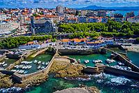 France, Pyrénées-Atlantiques (64), Pays Basque, Biarritz, le port des pêcheurs // France, Pyrénées-Atlantiques (64), Basque Country, Biarritz, the fishermen's port