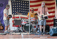 Monroe, New York - Bands play at the Rhythm 'n Brews concert to benefit Museum Village on June 12, 2015.