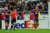 Fotball<br /> 17.09.2015<br /> Foto: Panoramic/Digitalsport<br /> NORWAY ONLY<br /> <br /> Joie but de Jussie (gir)<br /> Bordeaux vs Liverpool - Europa League Match - Bordeaux