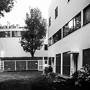 Paris, France, 2001 : Maison La Roche Janneret - France(1923) at 8-10 square Doctor Blanche- Le Corbusier arch - Signed and editioned prints available at 50x40cm. Get and touch, for commercial uses or other sizes. Photographs by Alejandro Sala