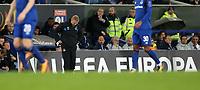 Football - 2017 / 2018 UEFA Europa League - Group E: Everton vs. Olympique Lyonnais (Lyon)<br /> <br /> Ronald Koeman manager of Everton at Goodison Park.<br /> <br /> COLORSPORT/LYNNE CAMERON
