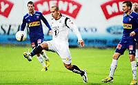 Fotball , 27. oktober 2013 ,  Adeccoligaen , 1. divisjon<br /> Sandefjord - Kristiansund<br /> Mahmoud El Haj  , KBK