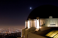 Griffith Observatory Planetarium, Los Angeles, California