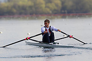 Mcc0038874 . Daily Telegraph..DT Sport..Men's single Scull Alan Campbell.The announcement of the GB Rowing Crews for the first World Cup.. .Reading 4 April 2012