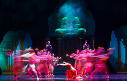 La Bayadere <br /> A ballet in three acts <br /> Choreography by Natalia Makarova <br /> After Marius Petipa <br /> The Royal Ballet <br /> At The Royal Opera House, Covent Garden, London, Great Britain <br /> General Rehearsal <br /> 30th October 2018 <br /> <br /> STRICT EMBARGO ON PICTURES UNTIL 2230HRS ON THURSDAY 1ST NOVEMBER 2018 <br /> <br /> <br /> Natalia Osipova as Gamzatti <br /> <br /> Photograph by Elliott Franks Royal Ballet's Live Cinema Season - La Bayadere is being screened in cinemas around the world on Tuesday 13th November 2018 <br /> --------------------------------------------------------------------