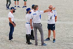 Team Israel, Michan Alberto, Vlock Teddy, Bond Ashlee, Dubbeldam Jeroen, NED<br /> Olympic Games Tokyo 2021<br /> © Hippo Foto - Dirk Caremans<br /> 06/08/2021