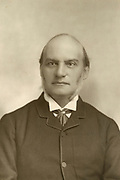 'Farrer Herschell,1lst Baron Herschell, GCB, PC, QC (1837-1899), British Liberal politician,  Lord Chancellor of Great Britain 1886 and 1892-1895, pictured c1890.'