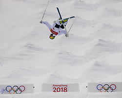 February 9, 2018 - Pyeongchang, South Korea - 180209 Ludvig FjÅ llstrÅ¡m of Sweden compete in the MenÃ•s Moguls Qualification during the 2018 Winter Olympics on February 9, 2018 in Pyeongchang..Photo: Petter Arvidson / BILDBYRN / kod PA / 91955 (Credit Image: © Petter Arvidson/Bildbyran via ZUMA Press)