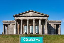 The new Collective arts centre at the  former City Observatory on Calton Hill in Edinburgh, Scotland, UK ++ Editorial Use Only ++