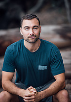 Personal portrait for trainer and health educator TJ Fortuna.