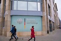 DEU, Deutschland, Germany, Berlin, 06.12.2017: Gebäude, Aussenansicht Bundesamt für Migration und Flüchtlinge (BAMF).