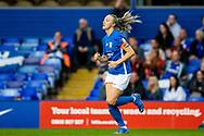 Birmingham City defender Louise Quinn (4) capttain during the FA Women's Super League match between Birmingham City Women and Brighton and Hove Albion Women at St Andrews, Birmingham United Kingdom on 12 September 2021.