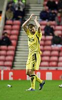 Photo: Andrew Unwin.<br /> Sunderland v Liverpool. The Barclays Premiership.<br /> 30/11/2005.<br /> Liverpool's John Arne Riise.