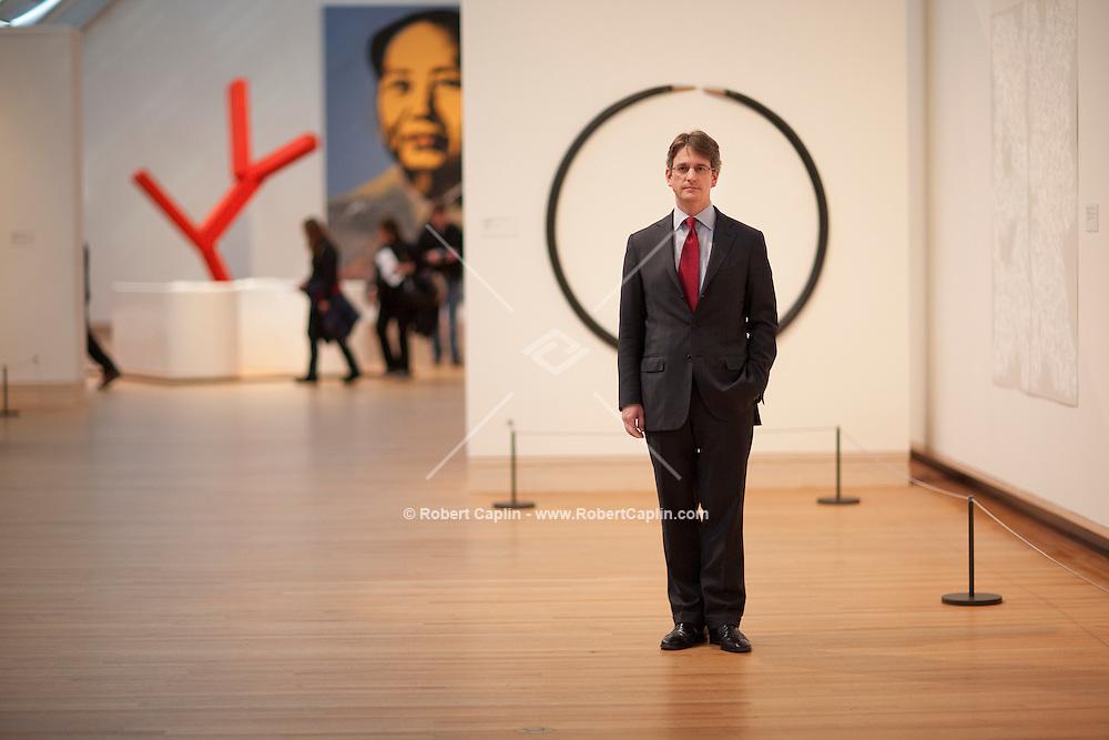 Thomas Campbell, Director of the Metropolitan Museum of Art in New York. ..Photo by Robert Caplin