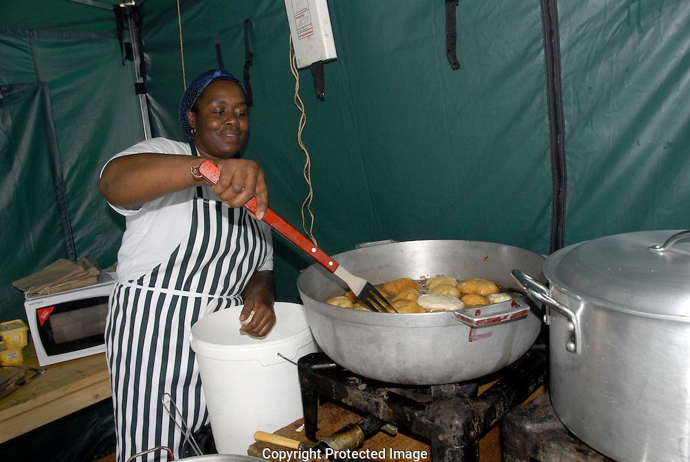 Caribbean food at Notting Hill Carnival 2008