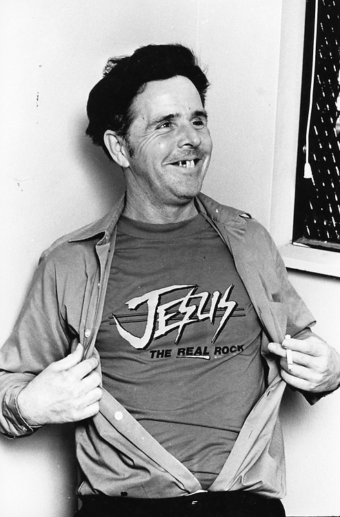 ©1984 Convicted murderer Henry Lee Lucas during a jailhouse interview in Georgetown, Texas.