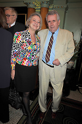 MARTIN BELL and KATE ADIE at the 2009 Oldie of The Year Award lunch held at Simpson's in The Strand, London on 24th February 2009.