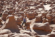 SHOT 5/22/17 8:58:22 AM - Emery County is a county located in the U.S. state of Utah. As of the 2010 census, the population of the entire county was about 11,000. Includes images of mountain biking, agriculture, geography and Goblin Valley State Park. (Photo by Marc Piscotty / © 2017)