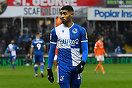 Josh Ginnelly (14) of Bristol Rovers during the EFL Sky Bet League 1 match between Bristol Rovers and Blackpool at the Memorial Stadium, Bristol, England on 15 February 2020.