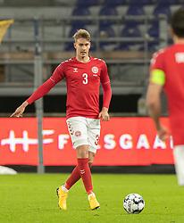 Andreas Maxsø (Danmark) under venskabskampen mellem Danmark og Sverige den 11. november 2020 på Brøndby Stadion (Foto: Claus Birch).