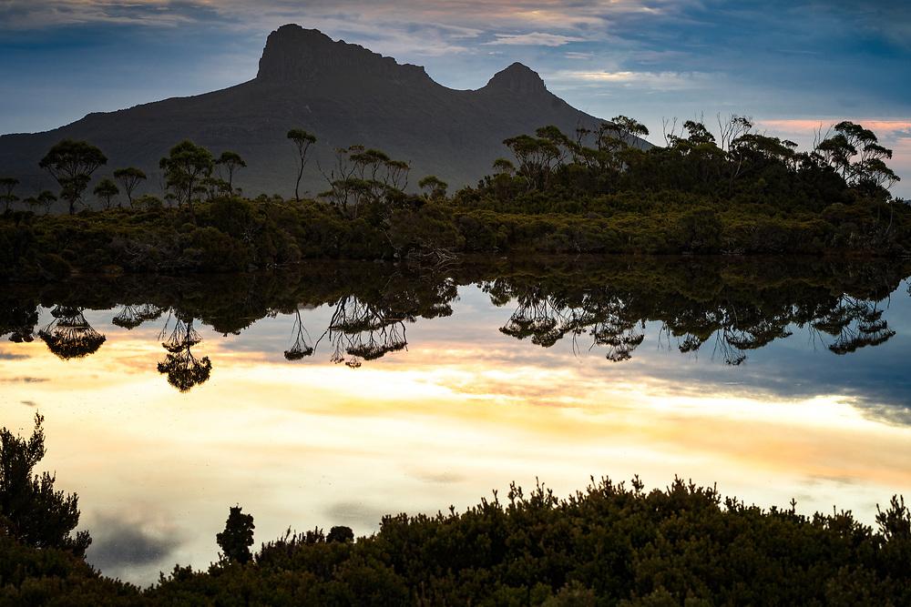 Gould Plateau in Cradle Mountain–Lake St Clair National Park, Tasmania