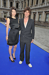 JACKSON SCOTT and BEN GRIMES at the Royal Academy of Arts Summer Party held at Burlington House, Piccadilly, London on 3rd June 2009.