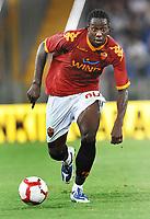 Fotball<br /> Italia<br /> Foto: Inside/Digitalsport<br /> NORWAY ONLY<br /> <br /> Stefano Okaka (Roma)<br /> <br /> Roma vs Gent 3-1<br /> Europa League <br /> Roma, 30/07/2009