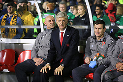 20 February 2017 - The FA Cup - (5th Round) - Sutton United v Arsenal - Arsene Wenger manager of Arsenal - Photo: Marc Atkins / Offside.