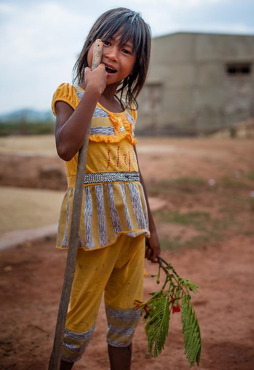 Higlands girl portrait (Vietnam)
