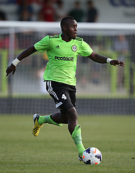 Al Bangura of Forest Green Rovers - Photo mandatory by-line: Kieran McManus/JMP - Tel: Mobile: 07966 386802 24/07/2013 - SPORT - FOOTBALL - Gloucestershire -  Forest Green Rovers V Cardiff City- Photo mandatory by-line: Kieran McManus/JMP - Tel: Mobile: 07966 386802 24/07/2013 - SPORT - FOOTBALL - Gloucestershire -  Forest Green Rovers V Cardiff City