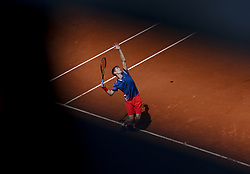 FRANCE-PARIS-TENNIS-ROLAND GARROS-DAY 4.(190529) -- PARIS, May 29, 2019  Yannick Maden of Germany competes during the men's singles second round match with Rafael Nadal of Spain at French Open tennis tournament 2019 at Roland Garros, in Paris, France on May 29, 2019. (Credit Image: © Xinhua via ZUMA Wire)