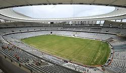 Cape Town 12-11-09 . Green Point stadium under construction<br /> Picture Brenton Geach