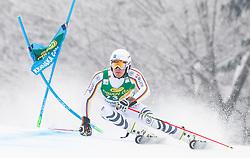 Alexander Schmid of Germany during 1st run of Men's Giant Slalom race of FIS Alpine Ski World Cup 57th Vitranc Cup 2018, on 3.3.2018 in Podkoren, Kranjska gora, Slovenia. Photo by Urban Meglič / Sportida