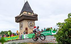 02.07.2017, Graz, AUT, Ö-Tour, Österreich Radrundfahrt 2017, 1. Etappe, Prolog, im Bild Patrick Gamper (AUT, Tirol Cycling Team) // during Stage 1, Prolog of 2017 Tour of Austria. Graz, Austria on 2017/07/02. EXPA Pictures © 2017, PhotoCredit: EXPA/ JFK