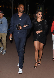 Vanessa White is seen walking the Croisette in Cannes with a mystery man.<br /><br />11 May 2018.<br /><br />Please byline: Vantagenews.com
