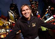 Johnny Damon -- Times Square, New York, NY