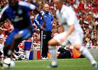 Photo: Richard Lane/Richard Lane Photography. SV Hamburg v Real Madrid. Emirates Cup. 02/08/2008. Hamburg manager, Martin Jol.