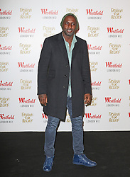 © Licensed to London News Pictures. 27/11/2014, UK. Idris Elba, Naomi Campbell Fashion For Relief Pop-Up Shop - launch party, Westfield London UK, 27 November 2014. Photo credit : Richard Goldschmidt/Piqtured/LNP