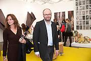 THOMAS DEMAND, opening of the 2010 Frieze art fair. Regent's Park. London. 13 October 2010. -DO NOT ARCHIVE-© Copyright Photograph by Dafydd Jones. 248 Clapham Rd. London SW9 0PZ. Tel 0207 820 0771. www.dafjones.com.
