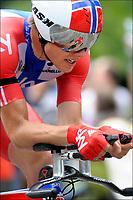 Sykkel<br /> Tour de France<br /> 23.07.2011<br /> Foto: PhotoNews/Digitalsport<br /> NORWAY ONLY<br /> <br /> 20th stage / Grenoble - Grenoble / contre la montre individuel - tijdrit - timetrial<br /> <br /> HAGEN Edvald Boasson (SKY PROCYCLING - NOR)