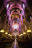 La Seu - The Cathedral of Santa Maria of Palma.<br />