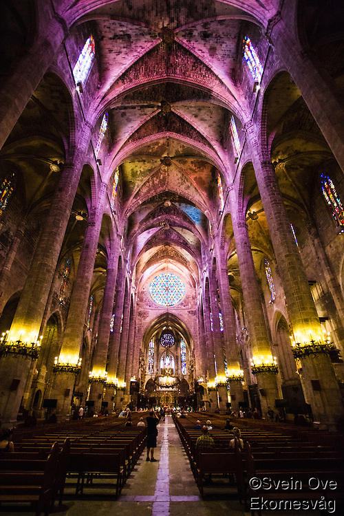 La Seu - The Cathedral of Santa Maria of Palma.<br /> Foto: Svein Ove Ekornesvåg