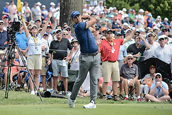 August 9, 2018 - Town And Country, Missouri, U.S - BROOKS KOEPKA from West Palm Beach Florida, USA tees off from hole number 6 during round one of the 100th PGA Championship on Thursday, August 8, 2018, held at Bellerive Country Club in Town and Country, MO (Photo credit Richard Ulreich / ZUMA Press) (Credit Image: © Richard Ulreich via ZUMA Wire)